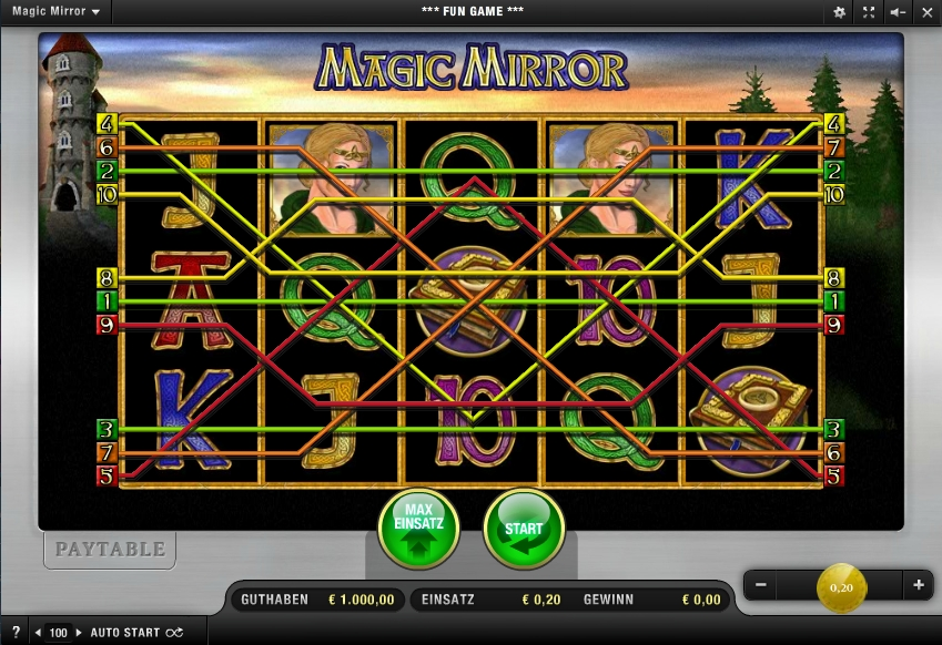 Merkurs Magic Mirror online spielen