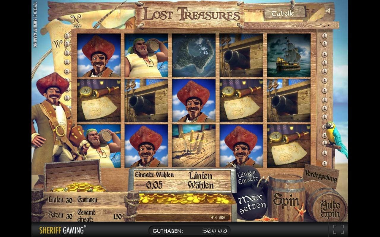 Merkur's Lost Treasures