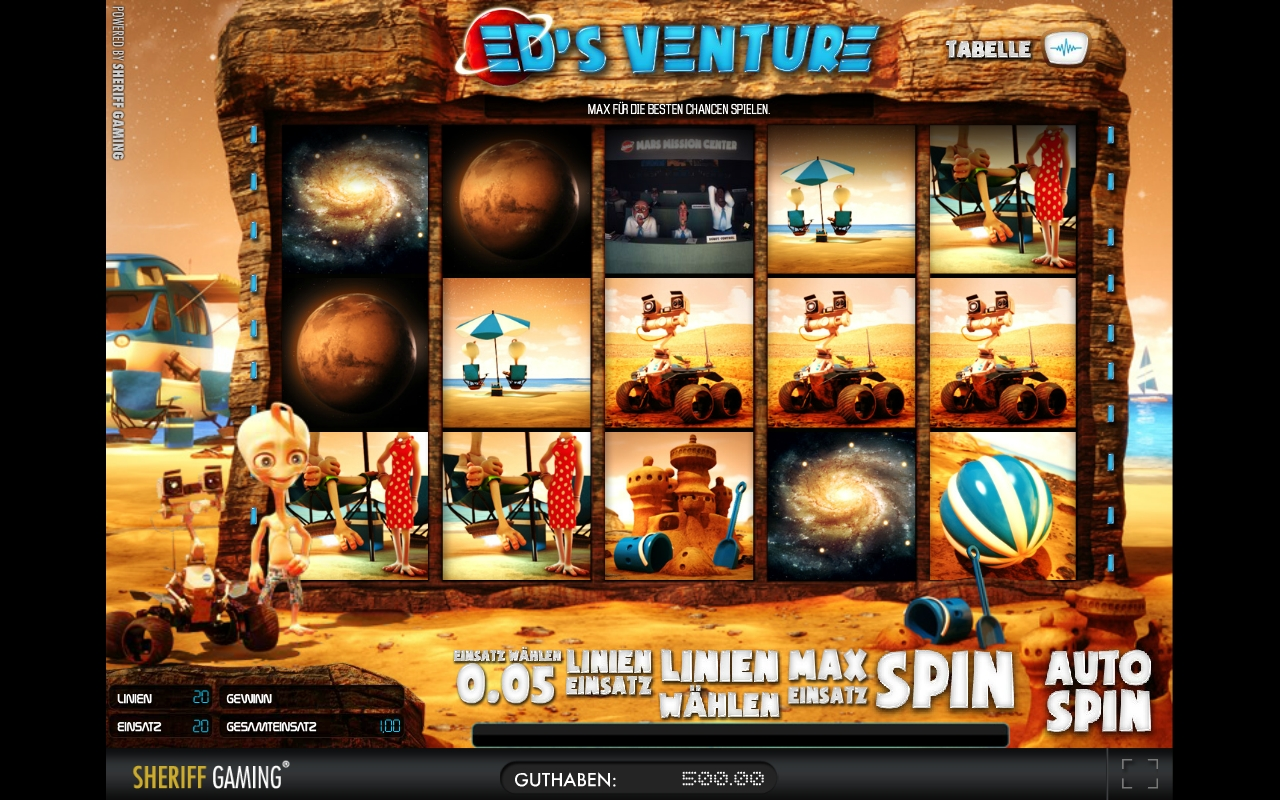 Merkur's Ed's Venture