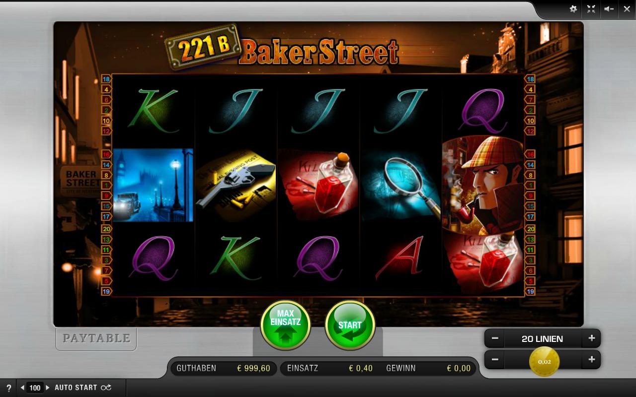 Merkur 221B Baker Street